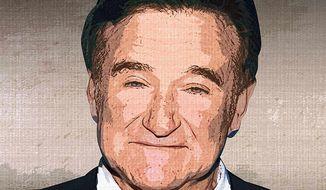 Robin Williams Portrait by Greg Groesch/The Washington Times