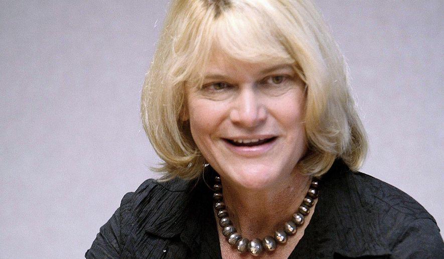 Incumbent Republican U.S. Rep. Cynthia Lummis in Cheyenne, Wyo. (Associated Press/The Wyoming Tribune Eagle) **FILE**