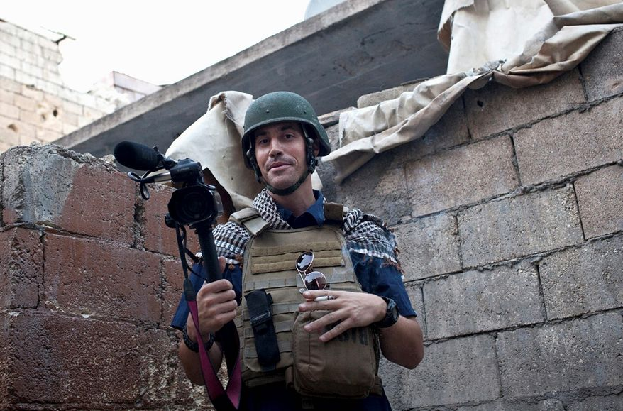 James Foley was dedicated to documenting the plight of ordinary Syrians in war-torn, Aleppo, his parents said. He gave his life in a horrifying act of revenge for U.S. airstrikes in Iraq. (Freejamesfoley.org via associated press)