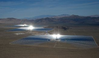Ivanpah solar energy project (Sandia National Laboratories' website)