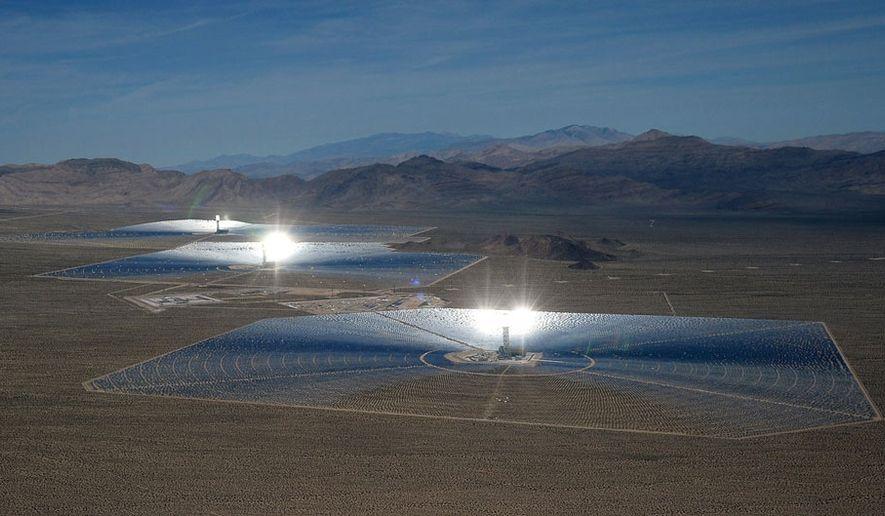 Ivanpah solar energy project (Sandia National Laboratories' website)
