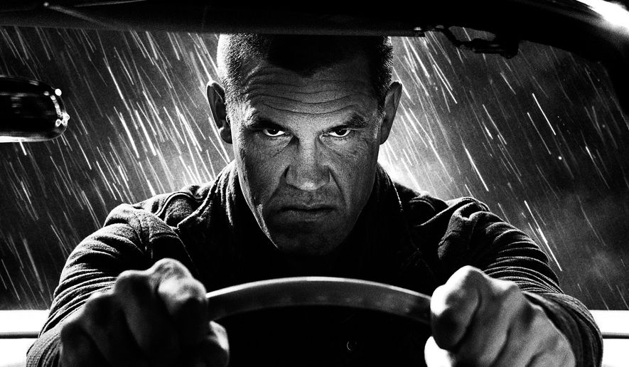 """This image released by The Weinstein Company shows Josh Brolin in a scene from, """"Sin City: A Dame to Kill For."""" (AP Photo/The Weinstein Company)"""
