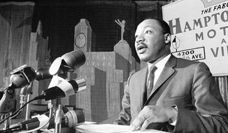 To the Rev. Martin Luther King Jr., the economic challenges of Black America were equally as important as the social ones. (AP)