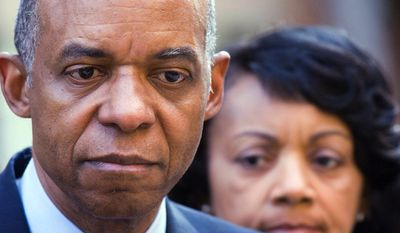 Former U.S. Rep. William Jefferson of Louisiana began serving in 2012 a 13-year sentence for his convictions on corruption charges. (Associated Press)