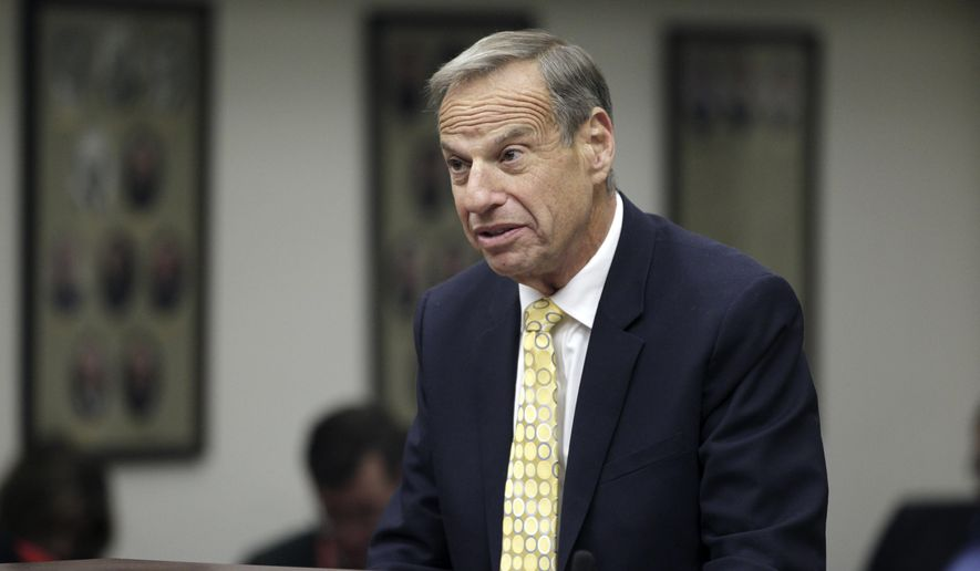 FILE - This Dec. 9, 2013 file photo shows former San Diego Mayor Bob Filner in court in San Diego. The city of San Diego is facing a new lawsuit over Filner,  the former mayor whose term was cut short by sexual harassment allegations.  (AP Photo/U-T San Diego,  John Gastaldo, Pool)