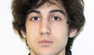 ** FILE ** This file photo released Friday, April 19, 2013 by the Federal Bureau of Investigation shows Dzhokhar Tsarnaev, suspect in the Boston Marathon bombings. Lawyers for Boston Marathon bombing suspect Dzhokhar Tsarnaev are asking a judge to dismiss indictments and put proceedings in the case on hold over concerns about the jury selection process in federal court. (AP Photo/Federal Bureau of Investigation, File)