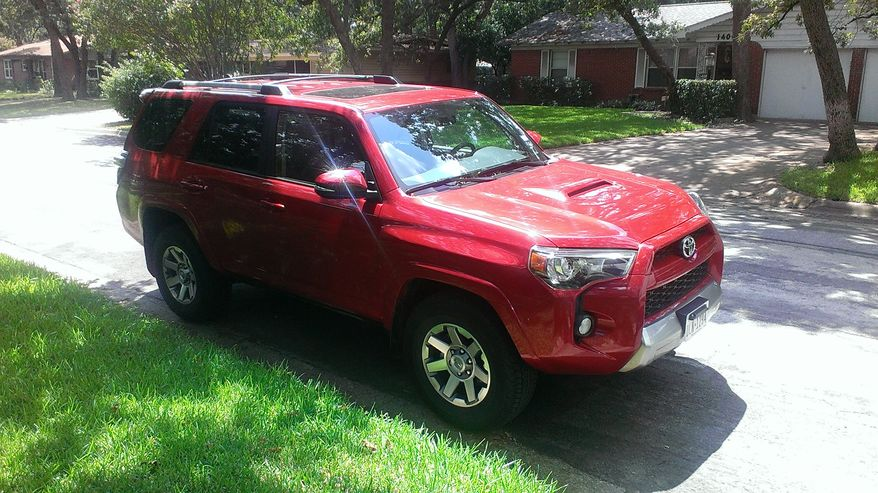 On the road or off, the 2014 Toyota 4Runner is more than capable of making magic. Photo by Rita Cook.