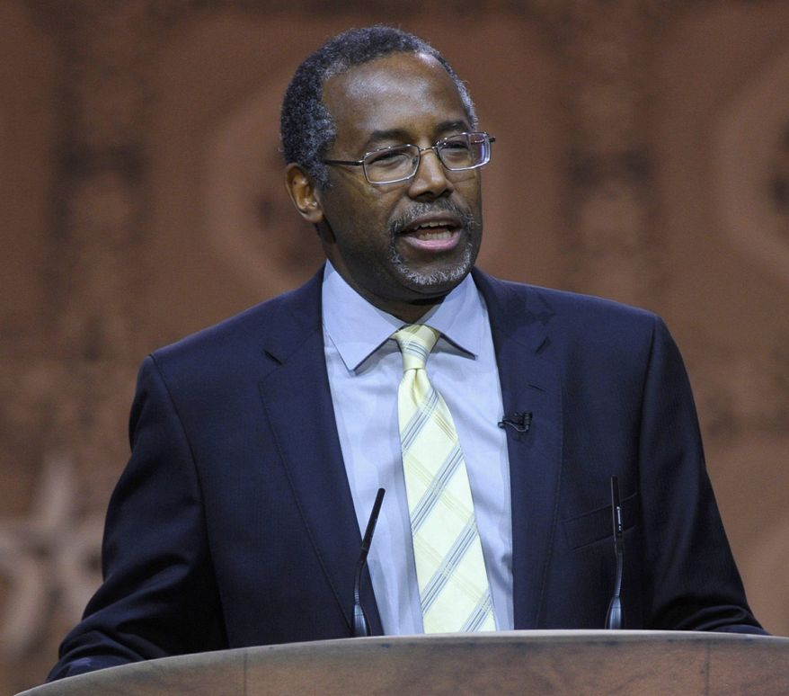 Dr. Ben Carson has signed a petition calling for the destruction of the Islamic State. (Associated Press)