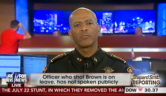 Milwaukee County Sheriff David Clarke took aim at Attorney General Eric Holder and Missouri Democrats on Friday, accusing them of demonizing law enforcement officers and fanning the racial flames in Ferguson. (YouTube)