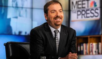 """Meet the Press"" moderator Chuck Todd. (Associated Press)"