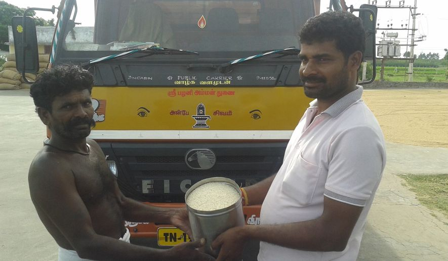 A Facebook page has been set up for the Rice Bucket Challenge, a phenomenon sweeping India.