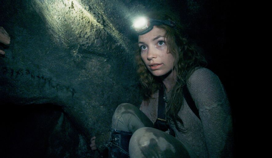 """This image released by Universal Pictures shows Perdita Weeks in a scene from the film, """"As Above, So Below."""" (AP Photo/Universal Pictures)"""