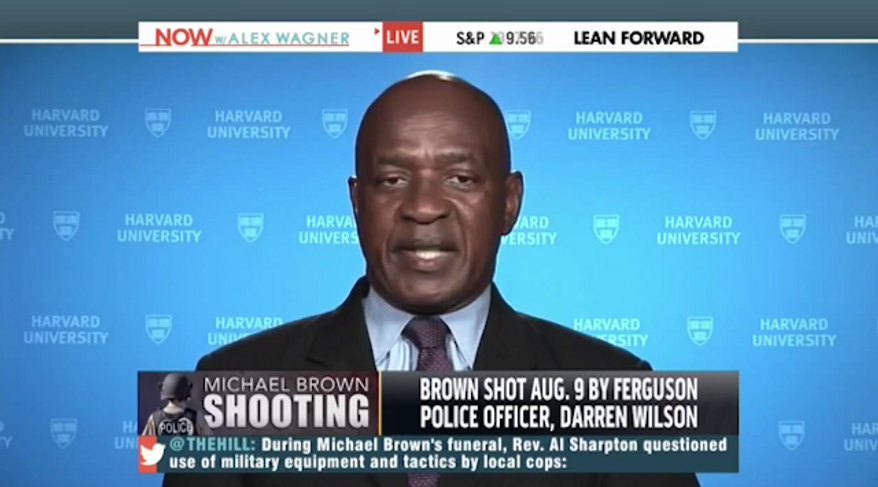 Charles Ogletree, the Harvard Law professor who mentored President Obama and the first lady during their time in Cambridge, has compared the Aug. 9 shooting of Michael Brown to the 1968 assassination of Dr. Martin Luther King, Jr. (YouTube/National Review)