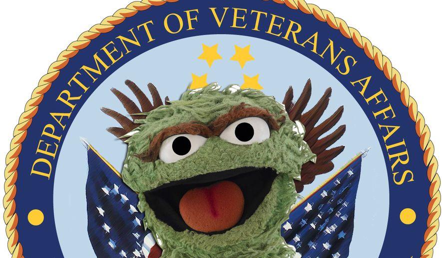 Oscar the Grouch photo illustration