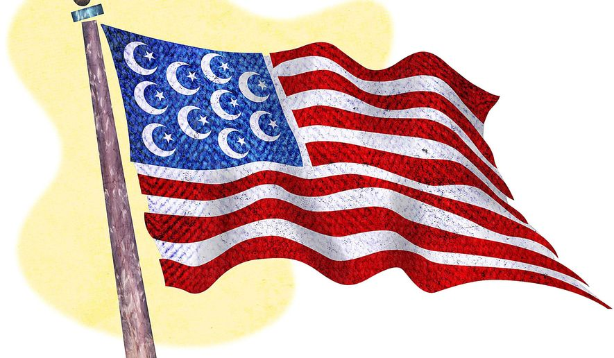 Flag of Uslam Illustration by Greg Groesch/The Washington Times