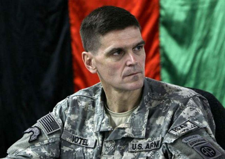 ** FILE ** Army Gen. Joseph Votel. (Associated Press)
