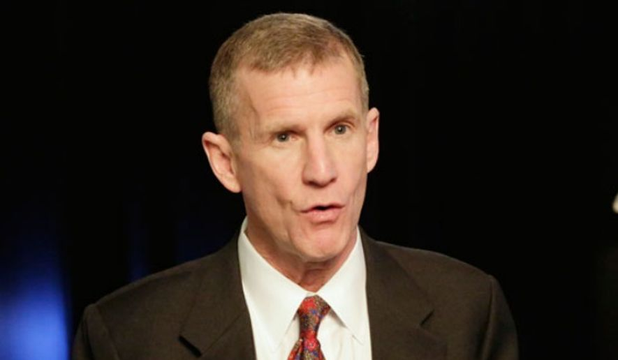 ** FILE ** Retired Army Gen. Stanley McChrystal. (Associated Press)