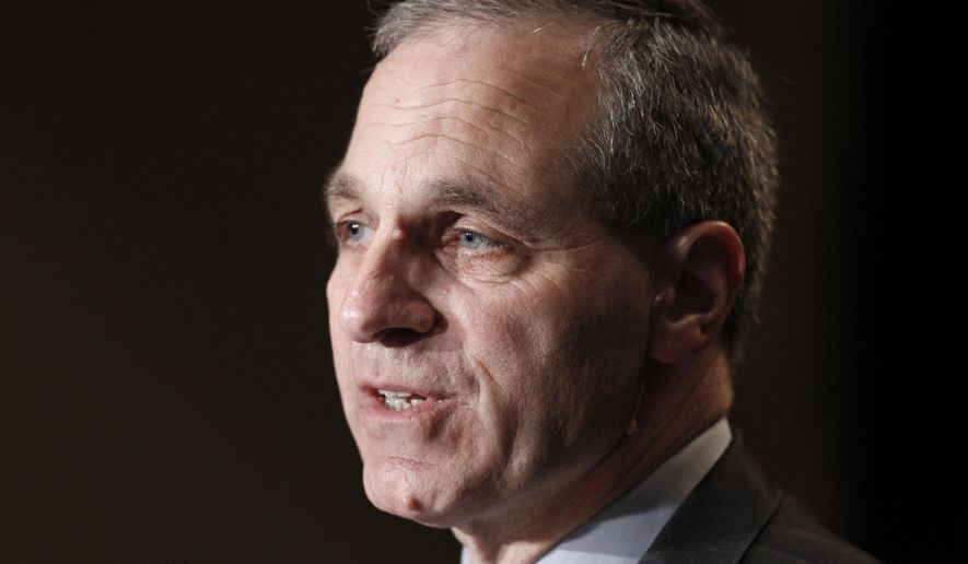 "FILE - In this Nov. 21, 2011 file photo, former FBI director Louis Freeh, speaks during a news conference in Philadelphia. Freeh was airlifted to a hospital Monday, Aug. 25, 2014, after a single-car crash in Vermont, authorities said. Freeh issued a statement Friday, Aug. 29, giving thanks the agents and employees of the FBI. He said, ""Their devotion, vigilance and prayers have sustained me and my family."" (AP Photo/Alex Brandon, File)"