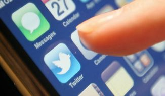 Twitter (Photo: Dominic Lipinski/PA Wire via AP Images)