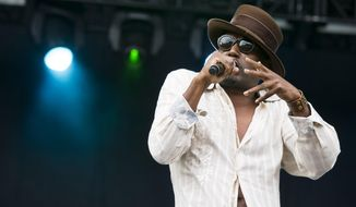 Big Daddy Kane performs on day one of the Budweiser Made in America Festival on Saturday, Aug. 30, 2014, in Philadelphia. (Photo by Charles Sykes/Invision/AP)