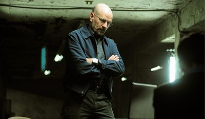 "Bryan Cranston as Walter White in AMC's ""Breaking Bad."" (AMC via Associated Press)"