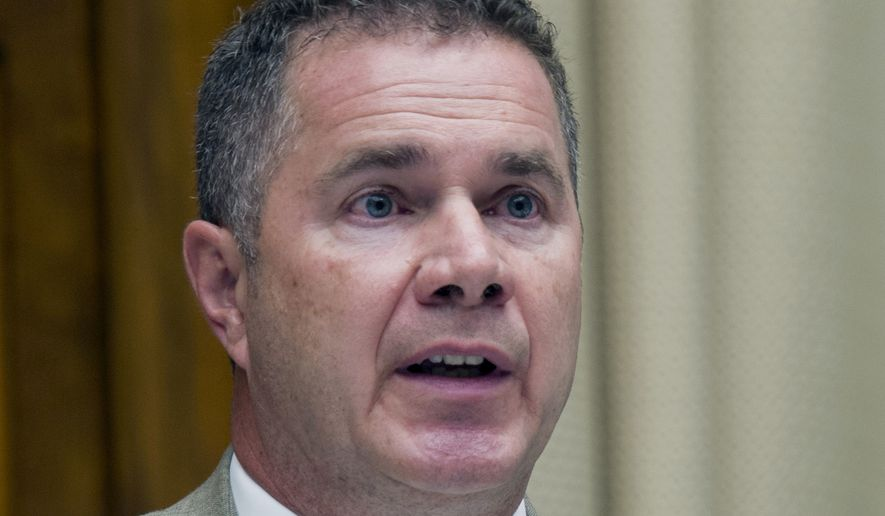 **FILE** Rep. Bruce Braley, Iowa Democratic Senate candidate, is seen here on Capitol Hill in Washington on June 18, 2014. (Associated Press)