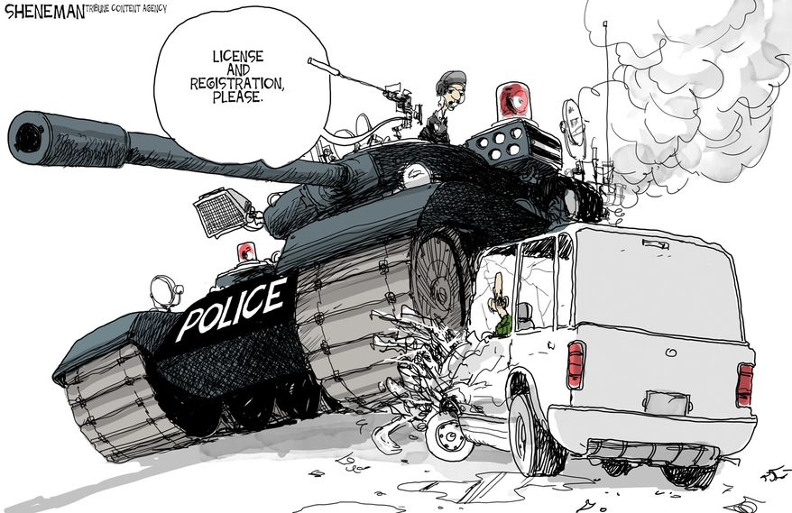Illustration by Drew Sheneman of the Tribune Media Services