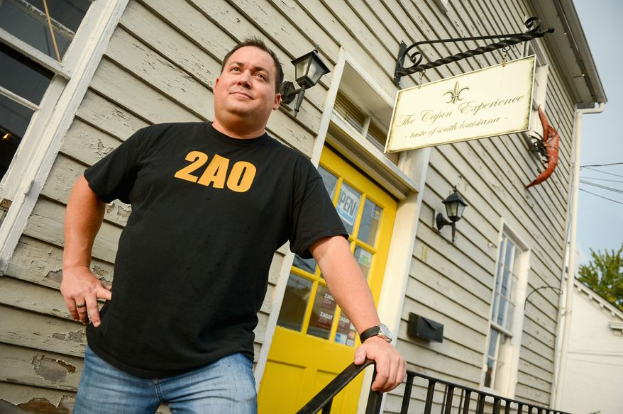 crusader: Bryan Crosswhite, owner of The Cajun Experience, started a website, www.2amendment.org, that lists pro-Second Amendment eateries and businesses.