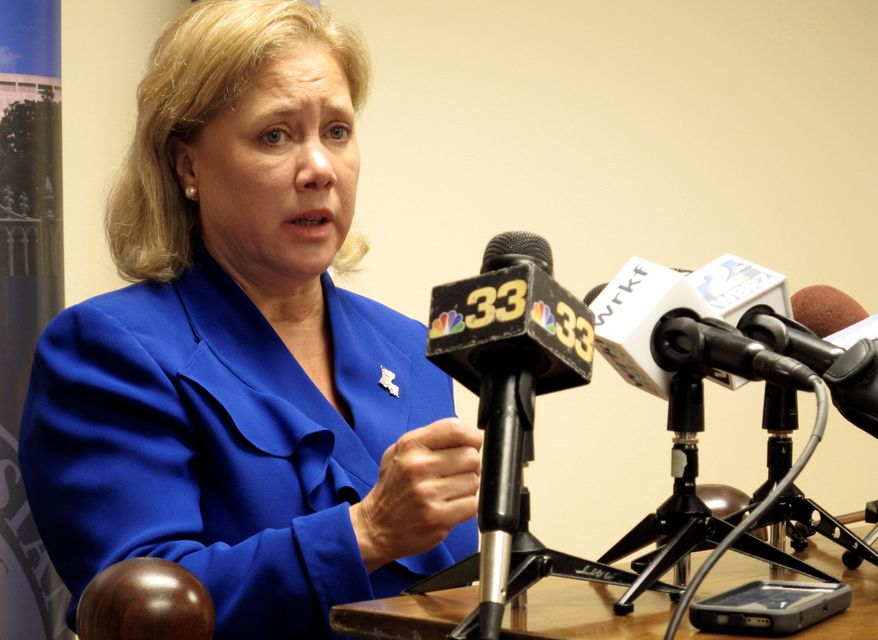 Sen. Mary L. Landrieu, Louisiana Democrat. (Associated Press) ** FILE **