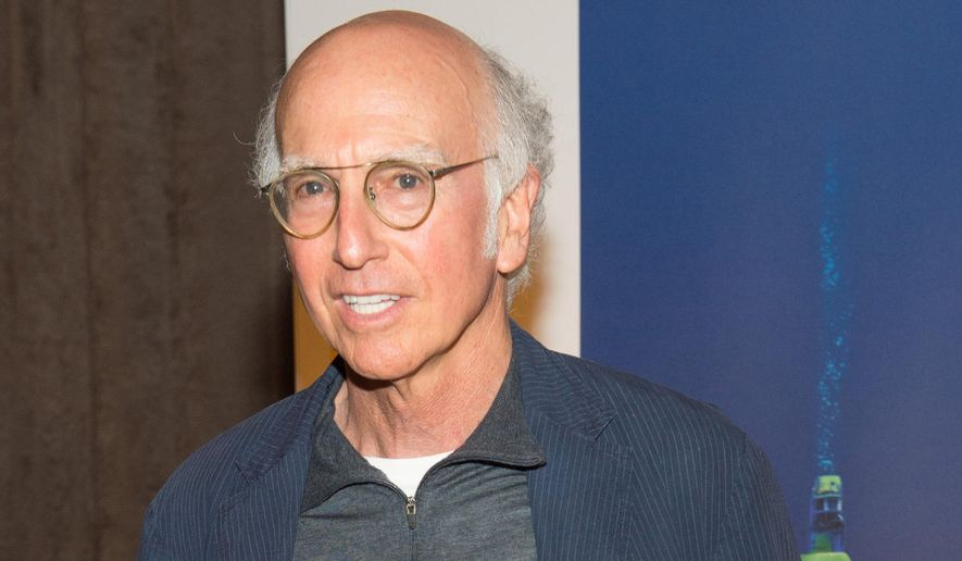 "In this Monday, Aug. 4, 2014, file photo, Larry David attends the U.S. premiere of National Geographic's ""Deepsea Challenge 3D,"" hosted by James Cameron and Rolex, at the American Museum of Natural History, in New York. (Photo by Scott Roth/Invision/AP, file)"