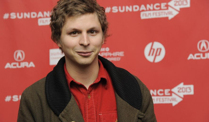 """HOLD FOR STORY - FILE - In this Jan. 22, 2013 file photo, Michael Cera, a cast member in """"Magic Magic,"""" poses at the premiere of the film at the 2013 Sundance Film Festival, in Park City, Utah.  Cera is performing in Kenneth Lonergan's """"This Is Our Youth,"""" a portrait of adrift, privileged post-adolescents that co-stars Kieran Culkin and Tavi Gevinson, opening on Broadway in New York, in Sept. 2014. (Photo by Chris Pizzello/Invision/AP, file)"""