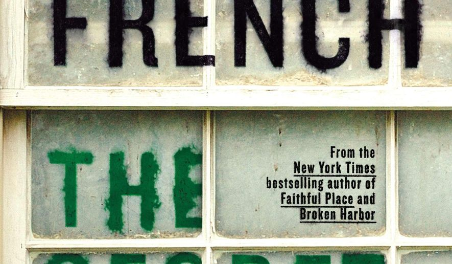 "This photo provided by courtesy of Viking shows the cover of the book, ""The Secret Place,"" by Tana French. (AP Photo/Courtesy Viking)"