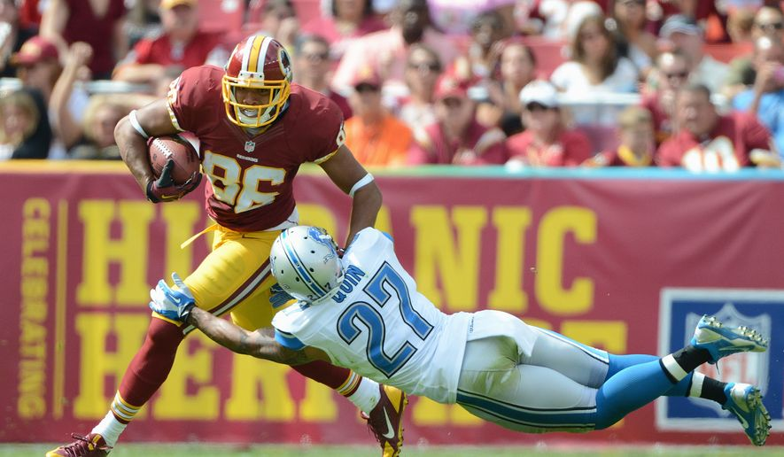 Redskins tight end Jordan Reed is worth a flier, but can he live up to his fantasy hype? (The WAshington Times)