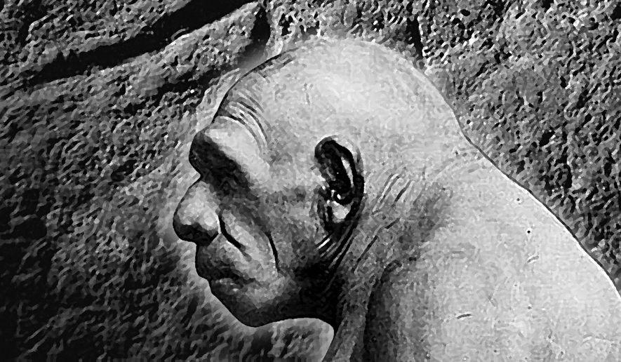"Illustration on Neanderthal ""art""     The Washington Times"