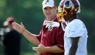 Redskins coach Jay Gruden tweaked the offense to maximize abilities and let playmakers like DeSean Jackson (right) do their thing. (Associated Press Photographs)