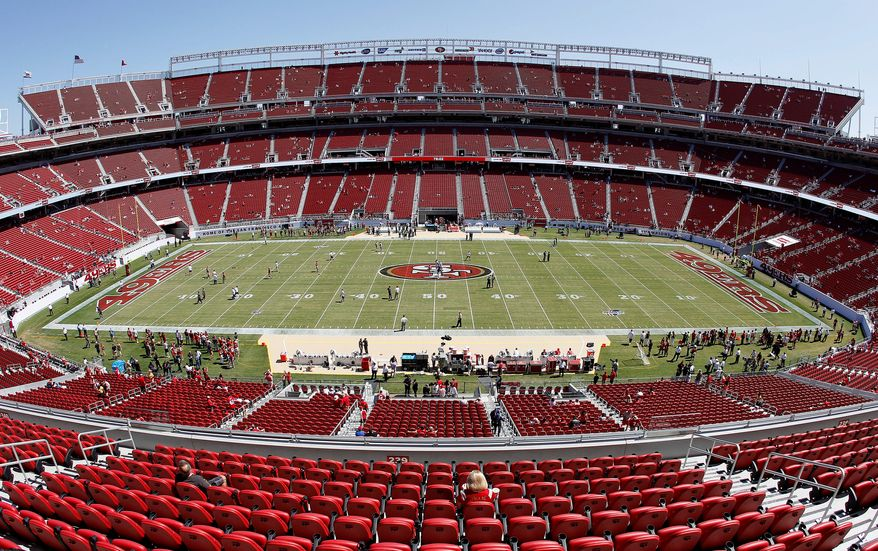 When the 49ers play their home opener Sept. 14, they will christen their new home, Levi's Stadium, that drew $114 million in taxpayer support. For sacking taxpayers and improving their bottom line with public subsidies, the San Francisco 49ers win this week's Golden Hammer. (Associated Press)