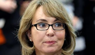 Former Arizona Congresswoman Gabrielle Giffords (AP Photo/Elaine Thompson) ** FILE **