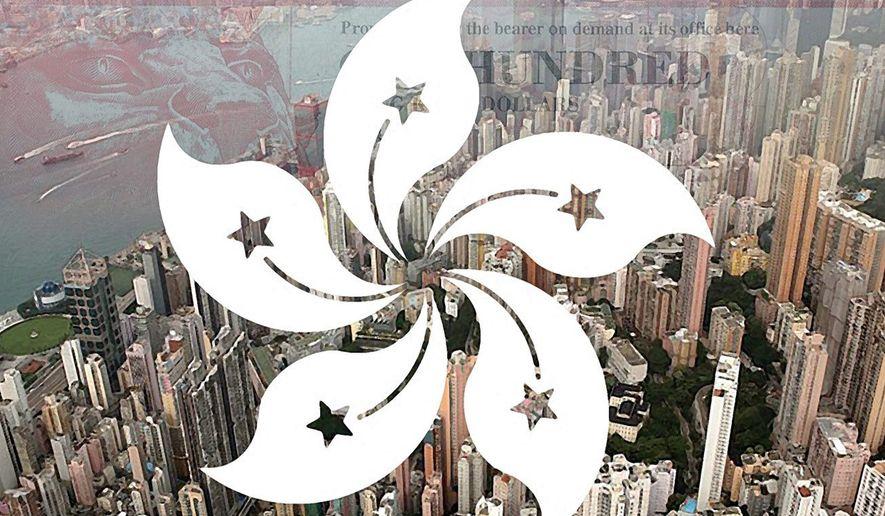 Illustration on Hong Kong     The Washington Times