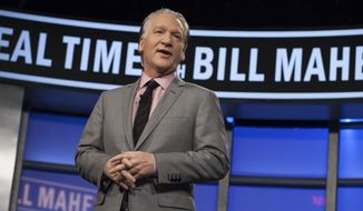"Bill Maher hosts ""Real Time with Bill Maher"" in Los Angeles. (AP Photo/HBO, Janet Van Ham, File) ** FILE **"