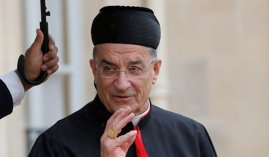 In urging action to counter the Islamic State persecution of Middle Eastern Christians, Bechara Boutros Rai of Lebanon emphasizes that religious freedom is a universal right. (associated press)