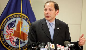 Secretary of Veterans Affairs Robert A. McDonald has touted his early success in the department, including hiring 53 more staff in Phoenix, contacting almost 300,000 veterans to get them off wait lists and proposing disciplinary action for three senior executive service employees at the Phoenix facility. (Associated Press)