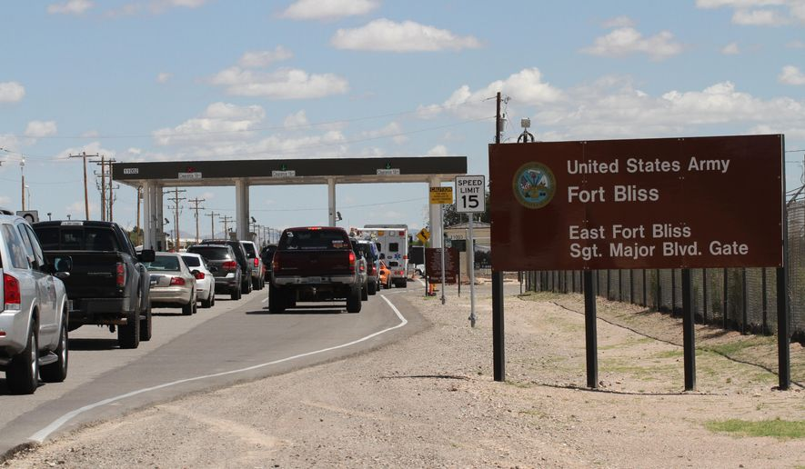 Fort Bliss Increasing Security Procedures Washington Times