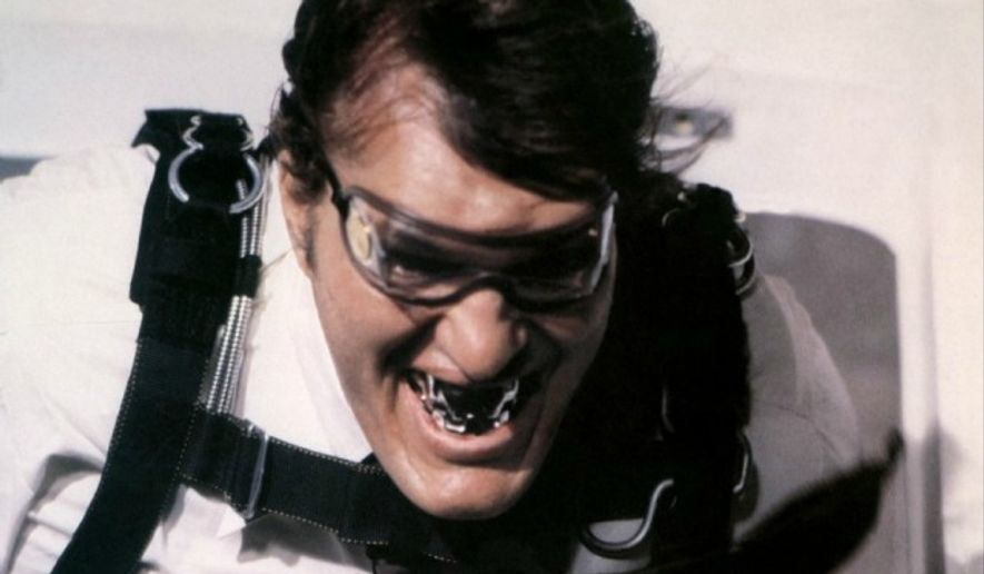 Actor Richard Kiel portrayed the colossal Bond villain Jaws in two films. (Courtesy MGM Home Entertainment)