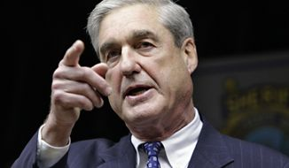 FILE - In this Jan. 9, 2011, file photo, FBI Director Robert S. Mueller III speaks in Tucson, Ariz. The NFL says former FBI director Mueller will conduct a probe into how the NFL handled evidence as it investigated domestic violence claims against former Ravens running back Ray Rice. NFL spokesman Greg Aiello said in a statement Wednesday, Sept. 10, 2014,  that the investigation will be overseen by NFL owners John Mara of the New York Giants and Art Rooney of the Pittsburgh Steelers. (AP Photo/Matt York, File)