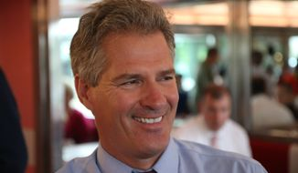 Republican Scott Brown (AP Photo/Portsmouth Herald, Rich Beauchesne/File)