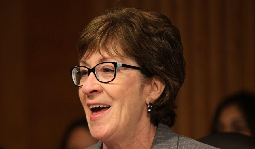 Sen. Susan Collins, R-Maine. (AP Photo/Lauren Victoria Burke) ** FILE **