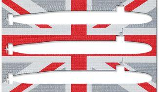 Scotland Freedom Threatens U.K. Security Illustration by Greg Groesch/The Washington Times