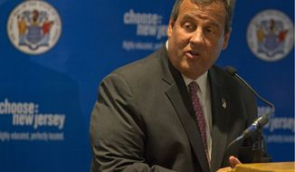 New Jersey Gov. Chris Christie signed a bill clarifying that alimony should be limited to the number of years of wedlock for couples married less than 20 years. It also gives clarity to handling cohabitating, retirement and unemployment. (Associated Press) ** FILE **