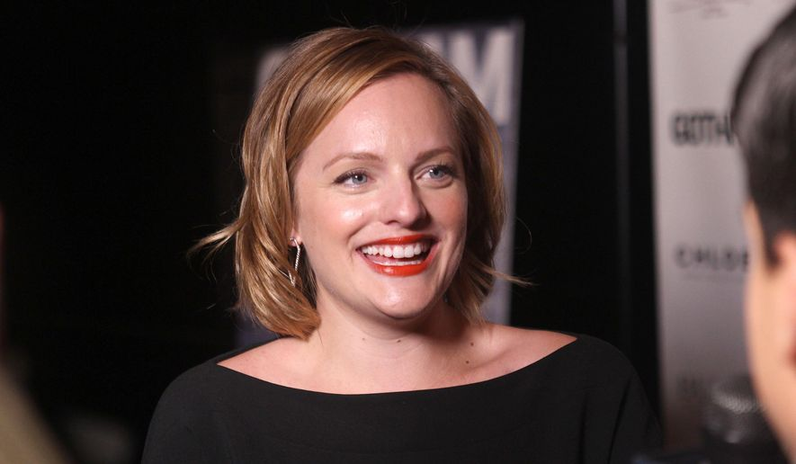Actress Elisabeth Moss attends the Gotham Magazine Fall Fashion Issue celebration at Tender Restaurant at the Sanctuary Hotel on Monday, Sept. 8, 2014, in New York. (Photo by Donald Traill/Invision/AP)