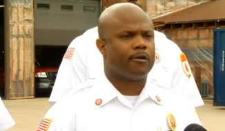 Maywood Fire Chief Craig Bronaugh had issued a mandate for the removal of patriotic stickers from helmets and lockers, citing a culture of racism within the department, but said Wednesday that now he will be mandating department-issued flags on every locker and in every locker room. (NBC Chicago)